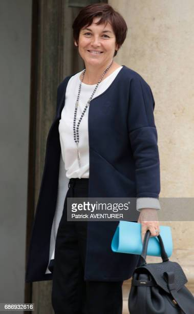 Annick Girardin France's minister of Overseas Territories arrives for a cabinet meeting at the Elysée Palace in Paris France on May 18 2017