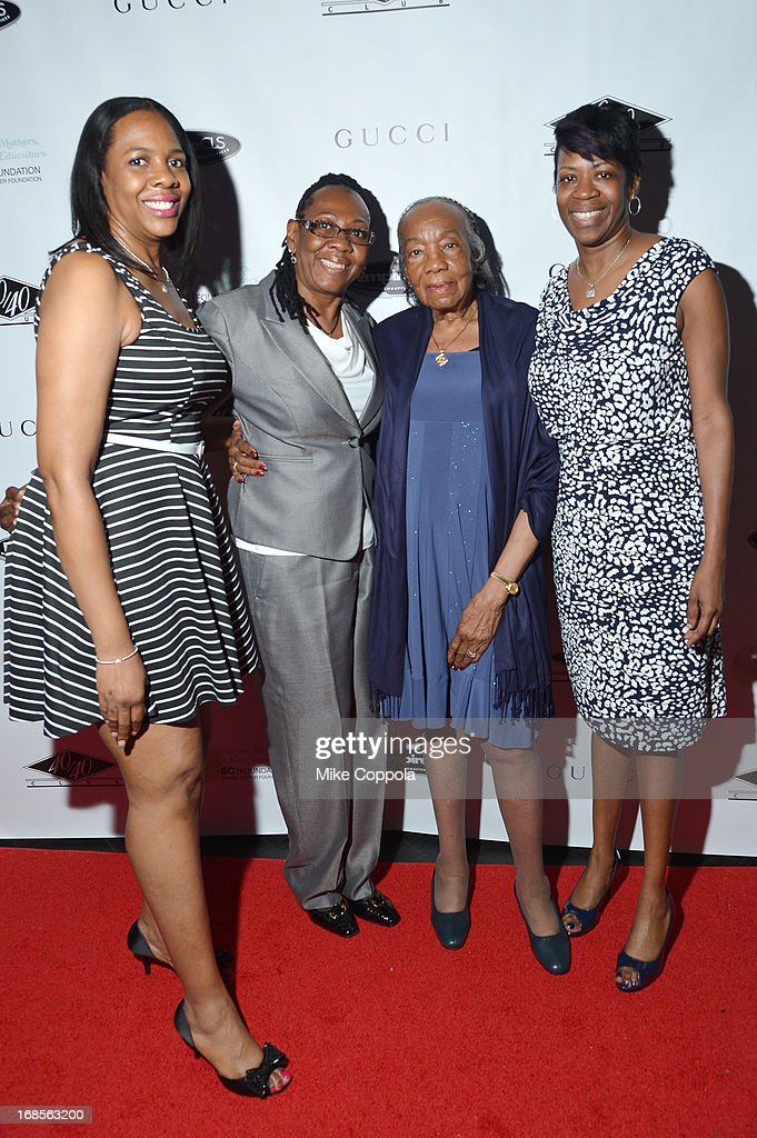 Annie Carter, Gloria Carter, Hattie Carter, and <a gi-track='captionPersonalityLinkClicked' href=/galleries/search?phrase=Michelle+Carter&family=editorial&specificpeople=2984136 ng-click='$event.stopPropagation()'>Michelle Carter</a> attend the Shawn Carter Foundation's Mother's Day event 'Celebrating Mothers, Our First Educators' at 40 / 40 Club on May 11, 2013 in New York City.