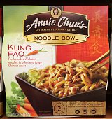 Annie Chun's Kung Pao Noodle Bowl frozen prepared Chinesestyle meal