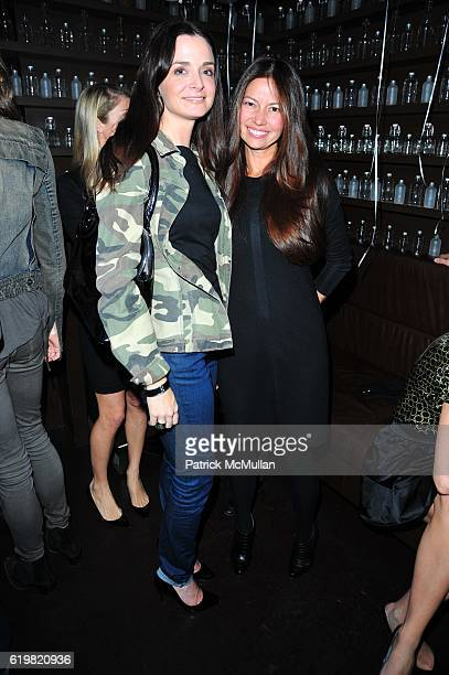 Annie Churchill and Lottie Oakley attend CARRIE CLOUD ANNABEL VARTANIAN Birthday Celebration at Delicatessen NYC on October 15 2008
