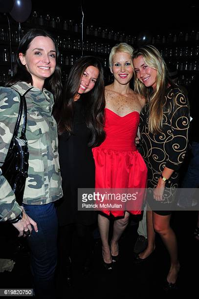 Annie Churchill Lottie Oakley Carrie Cloud and Helena Khazanova attend CARRIE CLOUD ANNABEL VARTANIAN Birthday Celebration at Delicatessen NYC on...