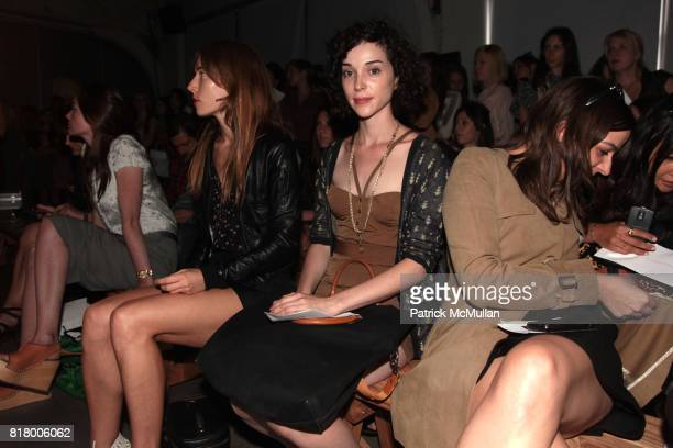 Annie Clark attend the RACHEL COMEY Spring 2011 Fashion Show at Pier 59 on September 09 2010 in New York City