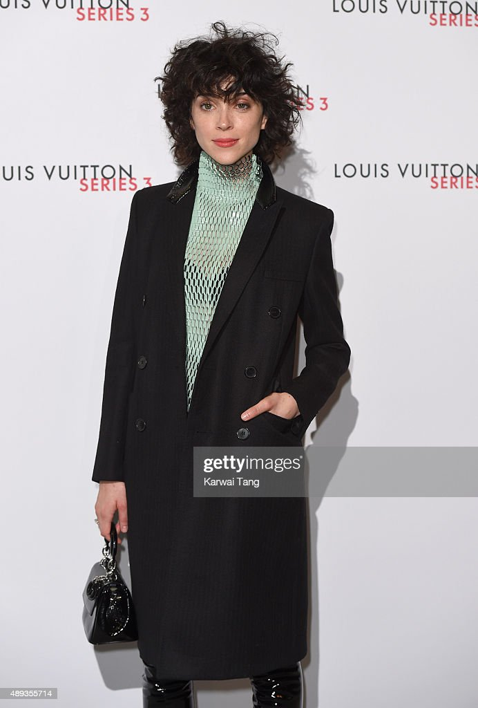 Annie Clark attends the Louis Vuitton Series 3 VIP Launch on September 20, 2015 in London, England.