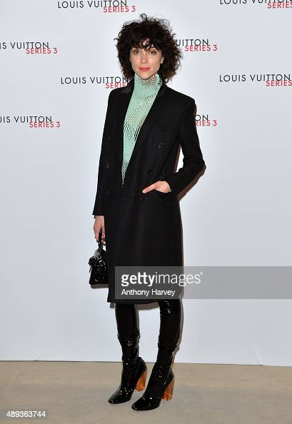 Annie Clark attends the Louis Vuitton Series 3 VIP Launch on September 20 2015 in London England