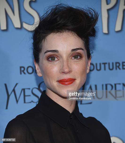 Annie Clark attends the 'Paper Towns' New York Premiere at AMC Loews Lincoln Square on July 21 2015 in New York City