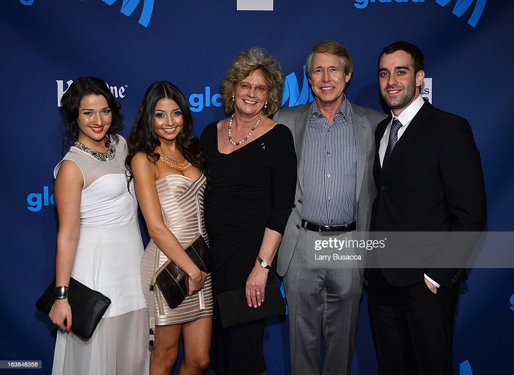 Annie Clark, Cristine Prosperi, Linda Rudolph, Stephen Stohn and guest attend the 24th Annual GLAAD Media Awards on March 16, 2013 in New York City.