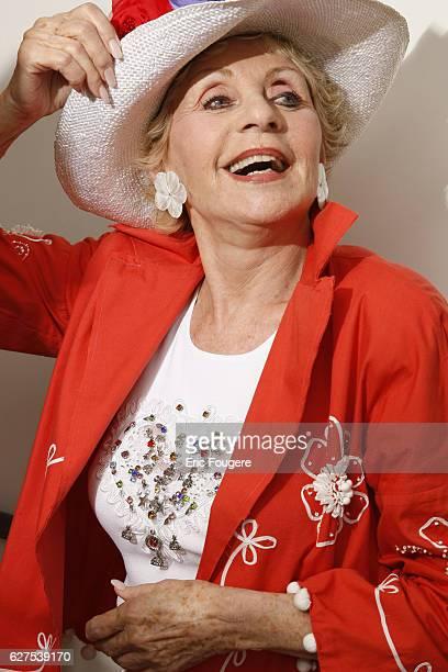 Annie Cordy attends the France 3 TV show 'Les Grands du Rire' in Paris