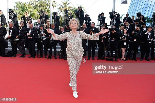 Annie Cordy attends the 'Mia Madre' Premiere during the 68th annual Cannes Film Festival on May 16 2015 in Cannes France