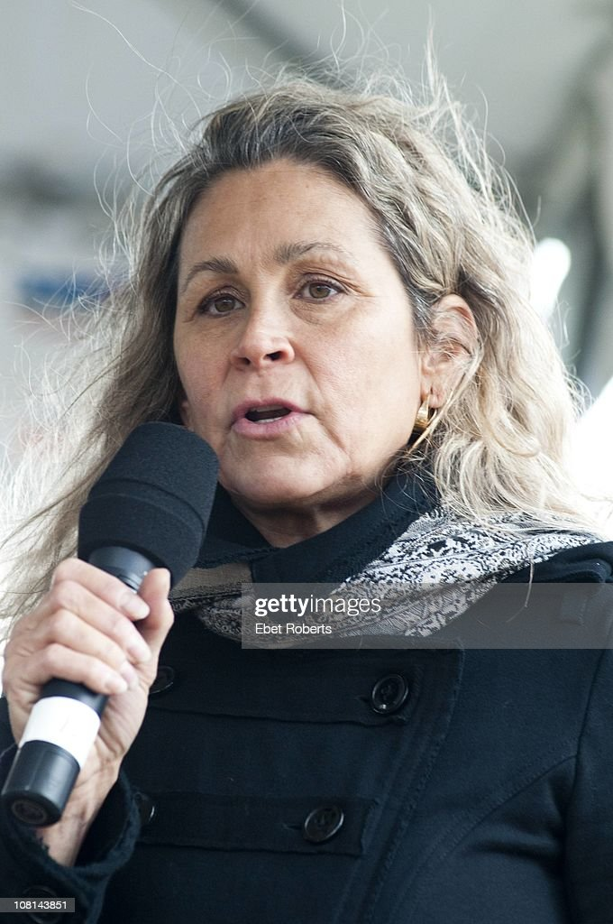 Annie D'Angelo Nelson at the Farm Aid Press Conference at Miller Park on 2nd October 2010 in Milwaukee, Wisconsin, United States.
