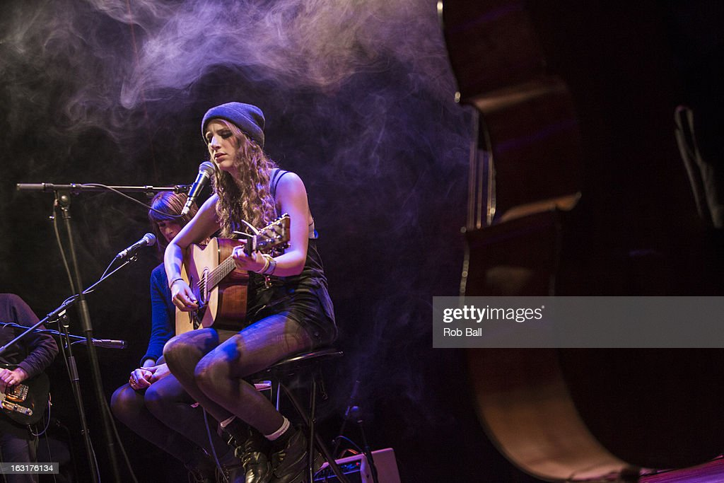 Annie Eve performs at Islington Assembly Hall on March 5, 2013 in London, England.