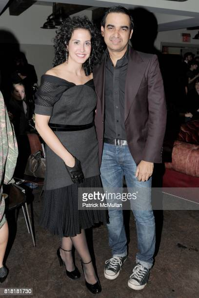 Annie Frank and Bibhu Mohapatra attend 'Forgotten Fashion' book party honoring the release of Let's Bring Back by Lesley MM Blume at Library on...
