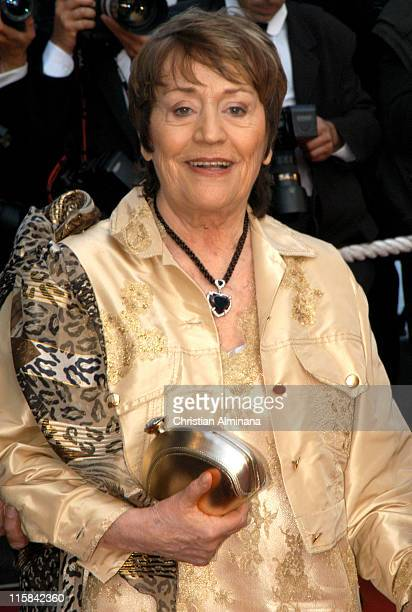 Annie Girardot during 2005 Cannes Film Festival 'Cache' Premiere at Palais de Festival in Cannes France