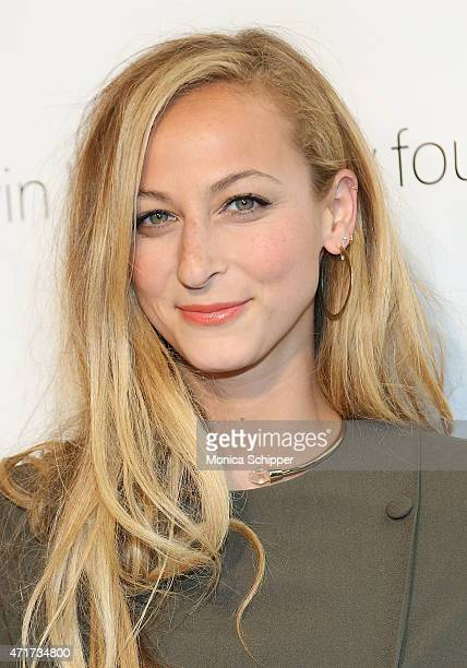 Annie Greenberg Senior Style Editor at Refinery29 attends 2015 FIT Future Of Fashion Runway Show at The Fashion Institute of Technology on April 30...