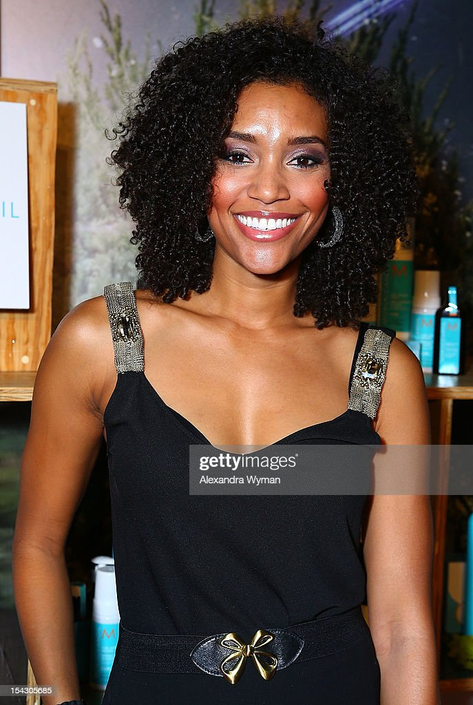 Annie Ilonzeh at The Gen Art 14th Annual Fresh Faces In Fashion Presented By Moroccan oil held at Vibiana on October 17, 2012 in Los Angeles, California.