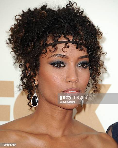 Annie Ilonzeh attends the 63rd Primetime Emmy Awards on September 18 2011 in Los Angeles United States