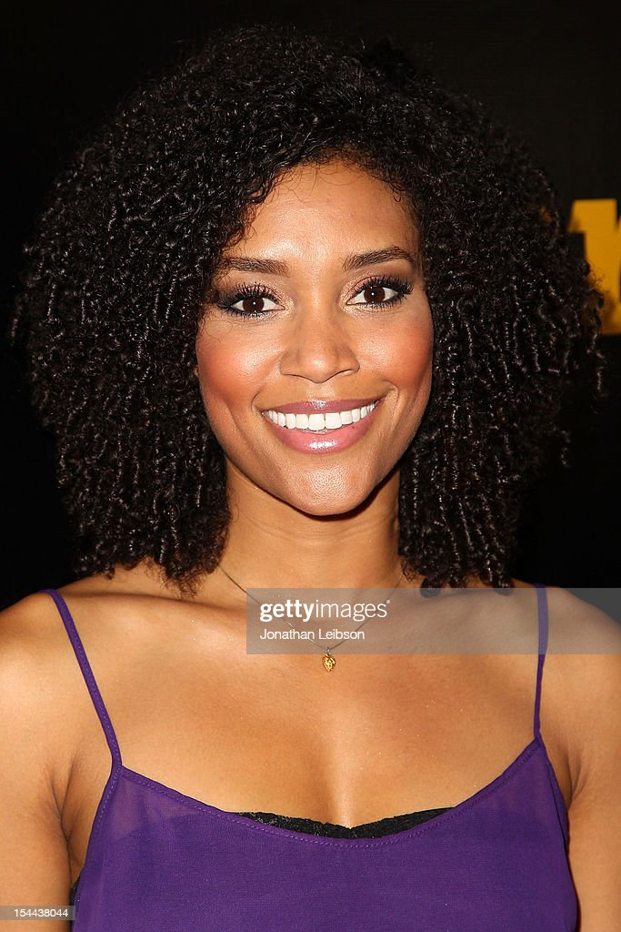 Annie Ilonzeh attends the J. Cole Performs at Footaction's 'Own The Stage' Celebration at W Hollywood on October 19, 2012 in Hollywood, California.