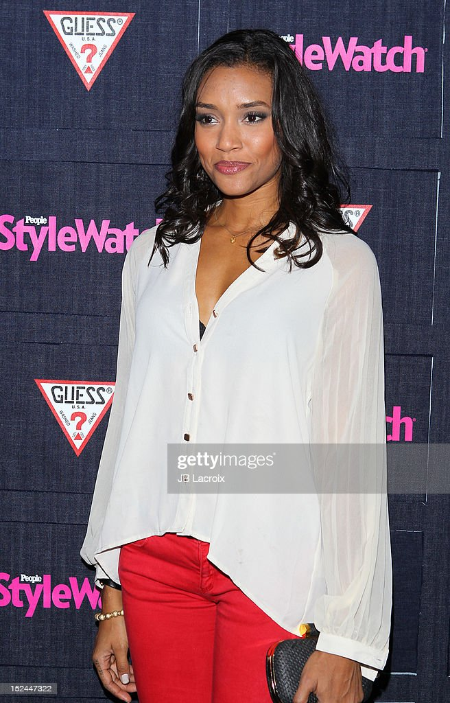 Annie Ilonzeh attends the People StyleWatch Hollywood Denim Party at Palihouse Holloway on September 20, 2012 in West Hollywood, California.