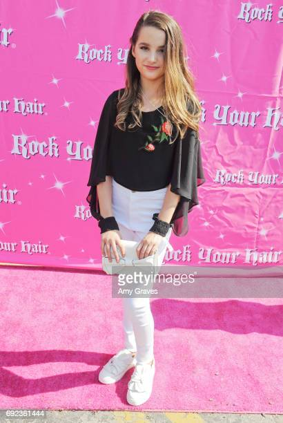 Annie LeBlanc attends Rock Your Hair presents 'Rock Your Summer' party and concert on June 3 2017 in Los Angeles California