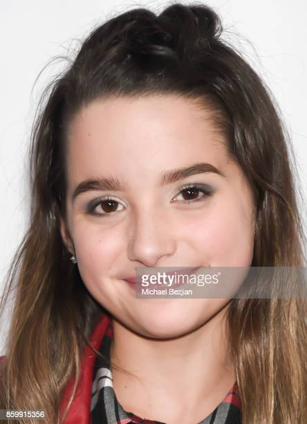 Annie Leblanc attends School Spirits Premiere on October 6 2017 in Beverly Hills California