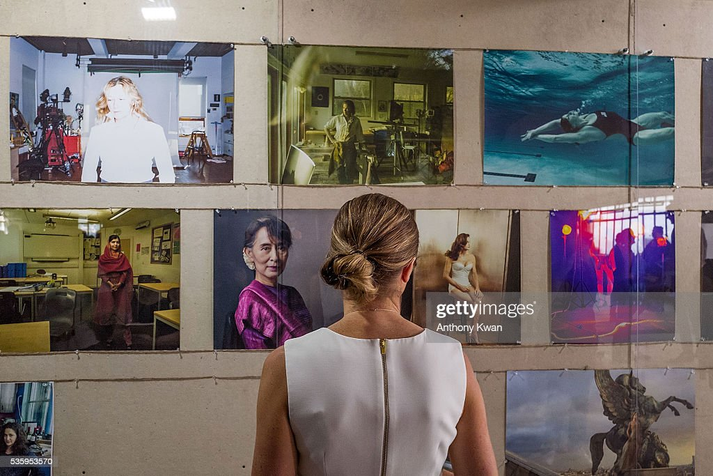 Annie Lebovitz's UBS commissioned exhibition, 'WOMEN: New Portraits', to be held at Cheung Hing Industrial Building, Kennedy Town in Hong Kong 3 - 26 June 2016, on May 31, 2016 in Hong Kong.