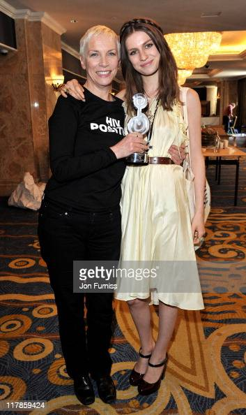 Annie Lennox and Tali Lennox at the Nordoff Robbins O2 Silver Clef Awards at London Hilton on July 1 2011 in London England