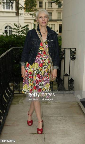 Annie Lennox arrives at The Observer Ethical Awards 2008 at the Hempel Hotel in London
