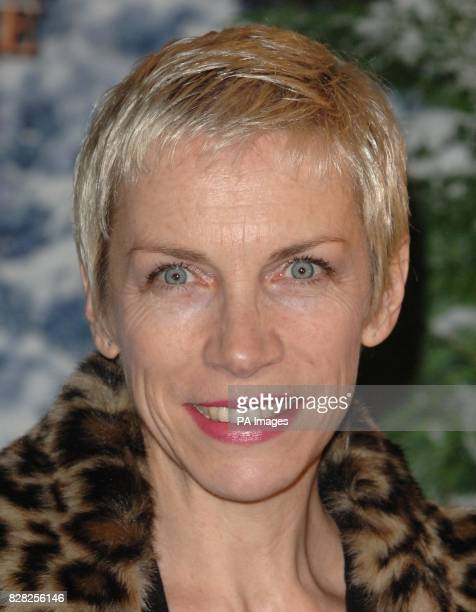 Annie Lennox arrives for the Royal Film Performance World Premiere of 'The Chronicles Of Narnia' from the Royal Albert Hall west London Wednesday 7...