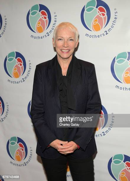 Annie Lennox attends mothers2mothers Fashion Bazaar at CITIZEN on May 6 2017 in Beverly Hills California