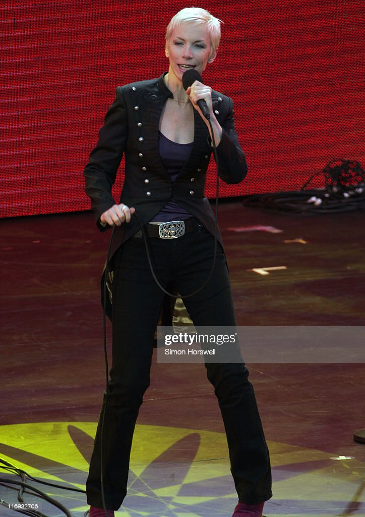 Annie Lennox during Prince's Trust 30th Live - Show at Tower of London in London, Great Britain.
