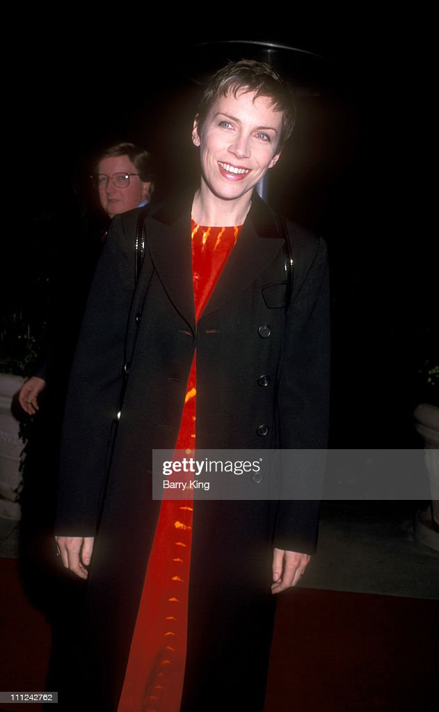 Annie Lennox during The 38th Annual GRAMMY Awards - Arista Records Pre-GRAMMY Party at Beverly Hills Hotel in Beverly Hills, California, United States.