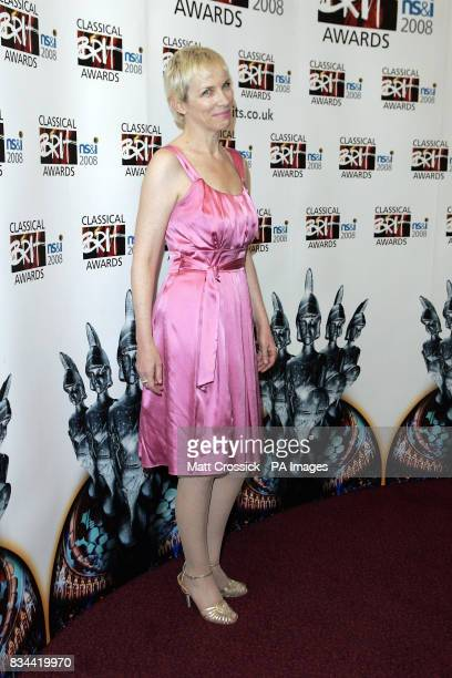 Annie Lennox during the Classical Brit Awards 2008 held at the Royal Albert Hall in west London