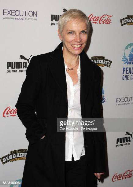 Annie Lennox pictured during the Peace One Day Event to celebrate Peace Day 2008 at the Royal Albert Hall in west London