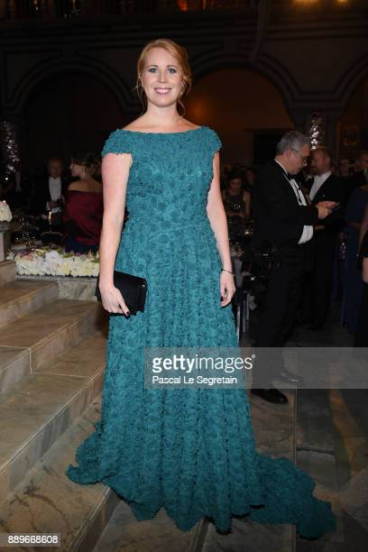 Annie Loof attend the Nobel Prize Banquet 2017 at City Hall on December 10 2017 in Stockholm Sweden