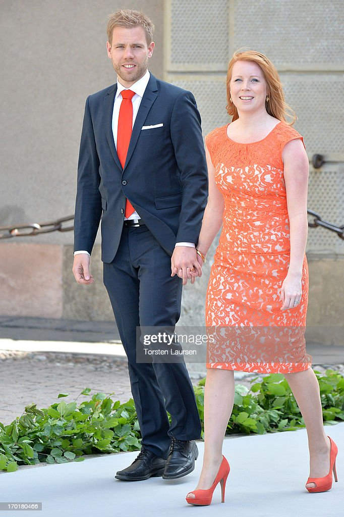 Annie Loof attends the wedding of Princess Madeleine of Sweden and Christopher O'Neill hosted by King Carl Gustaf XIV and Queen Silvia at The Royal Palace on June 8, 2013 in Stockholm, Sweden.