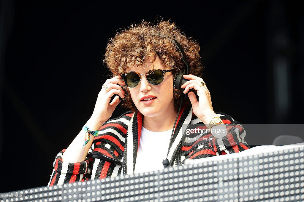 <a gi-track='captionPersonalityLinkClicked' href=/galleries/search?phrase=Annie+Mac&family=editorial&specificpeople=4628760 ng-click='$event.stopPropagation()'>Annie Mac</a> on stage during day 1 of BBC Radio 1's Big Weekend at Powderham Castle on May 28, 2016 in Exeter, England.