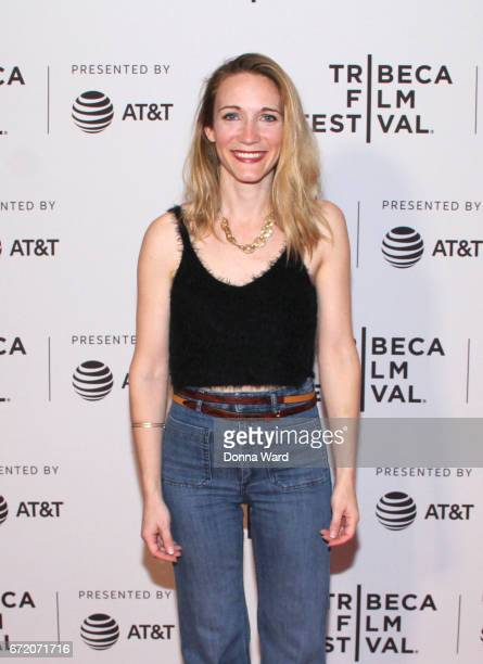 Annie McCain Engman attends Tribeca TV Pilot Season 'Black Magic For White Boys' showing during the 2017 Tribeca Film Festival at Cinepolis Chelsea...