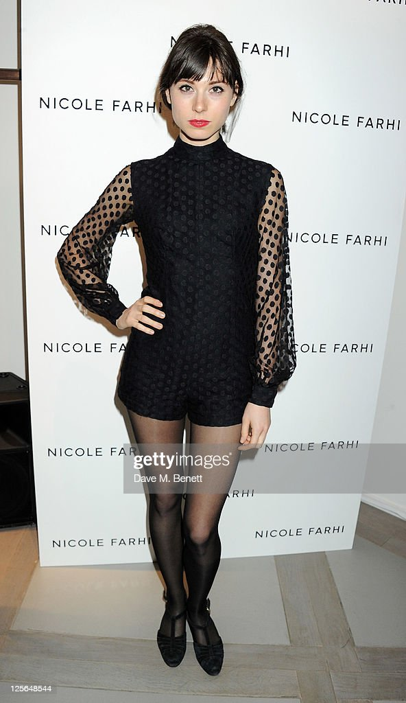 Annie Monroe attends the opening of the Nicole Farhi global flagship store on September 19, 2011 in London, England.