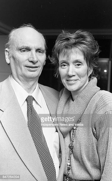 Annie Murphy and her partner Arthur Pennell pictured at Jury's Hotel last evening Pic Tom Burke 195399
