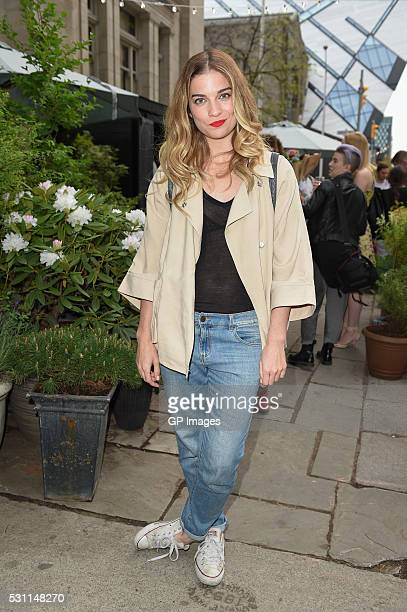 Annie Murphy attends Club Monaco Celebrates The Opening Of CM Market at Club Monaco Toronto Flagship Store on May 12 2016 in Toronto Canada