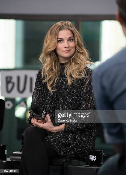 Annie Murphy visits Build Series to discuss 'Schitt's Creek' at Build Studio on February 6 2017 in New York City