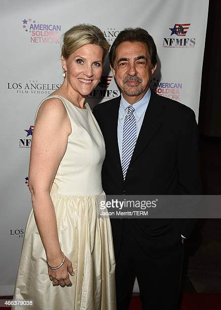Annie Nelson and Joe Mantegna attend the salute to heroes service gala to benefit The National Foundation For Military Family Support at The Majestic...