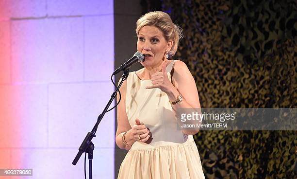 Annie Nelson attends the salute to heroes service gala to benefit The National Foundation For Military Family Support at The Majestic Downtown on...