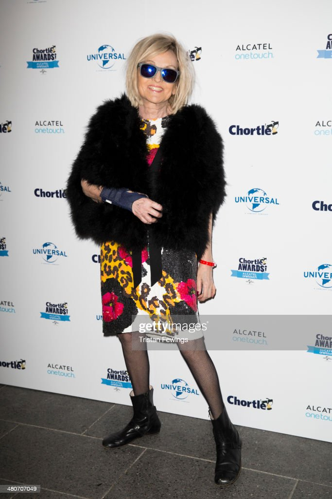 Annie Nightingale attends the Chortle Awards at Ministry Of Sound on March 26, 2014 in London, England.