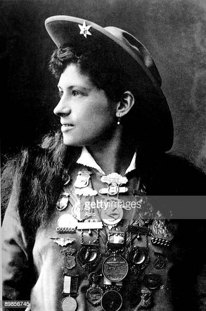 Annie Oakley United States sharpshooter who took part in a lot of shows