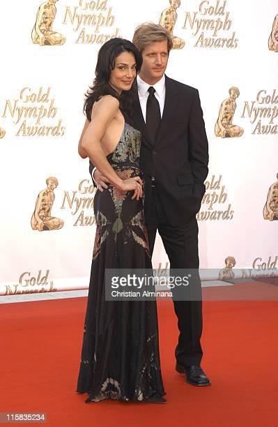 Annie Parisse and Paul Sparks during 45th Monte Carlo Television Festival Closing Award Ceremony at Grimaldi Forum in Monte Carlo Monaco