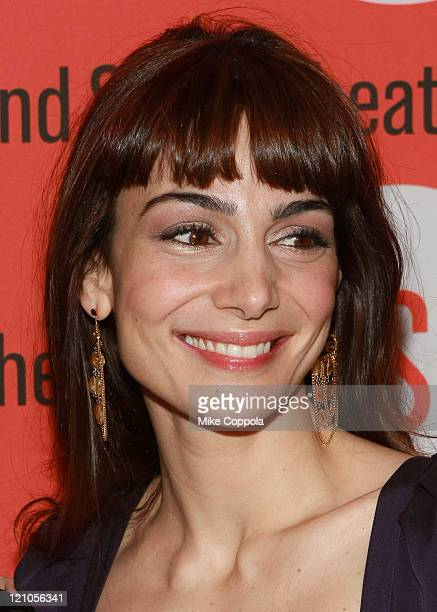 Annie Parisse attend the opening night after party for 'Becky Shaw' at Spanky's on January 8 2009 in New York City