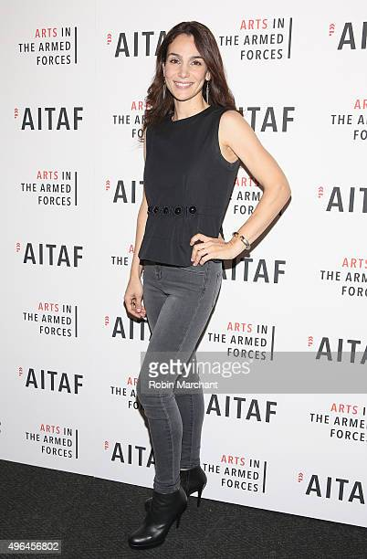 Annie Parisse attends 'Lobby Hero' Photo Call at Studio 54 on November 9 2015 in New York City