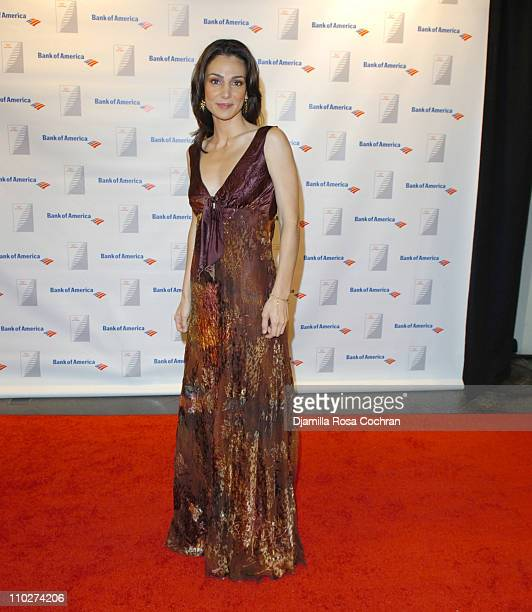 Annie Parisse during 2005 Quill Awards at Chelsea Piers in New York City New York United States