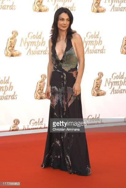 Annie Parisse during 45th Monte Carlo Television Festival Closing Award Ceremony at Grimaldi Forum in Monte Carlo Monaco