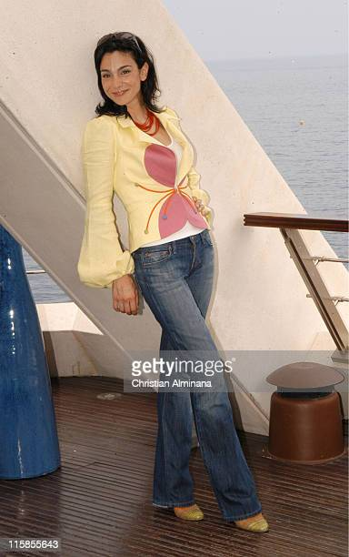 Annie Parisse during 45th Monte Carlo Television Festival 'Law Order' Photocall at Grimaldi Forum in Monte Carlo France